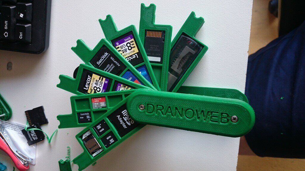 12 Awesome DIY SD Card Holders & SD Card Cases to 3D Print | All3DP