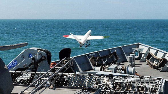 Featured image of Royal Navy Test Launches 3D Printed Drone At Sea