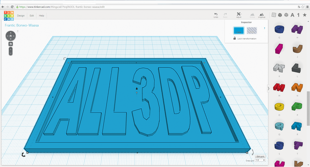 Featured image of How to 3D Print a Name Tag Using Tinkercad