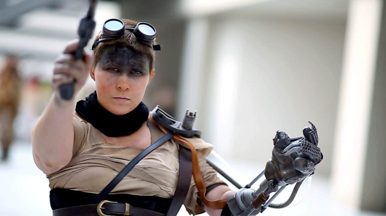 3D Printed Mad Max Prosthetic: An Epic Furiosa Cosplay | All3DP