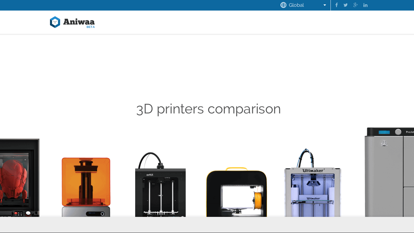 Aniwaa Compares Specifications of 850+ 3D Printers | All3DP