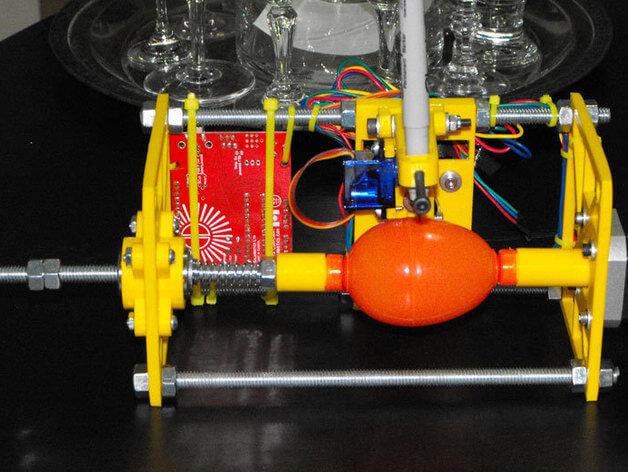 Fully Printable Eggbot