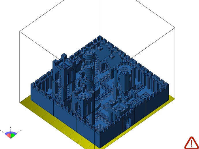 Modular castle kit - Lego compatible