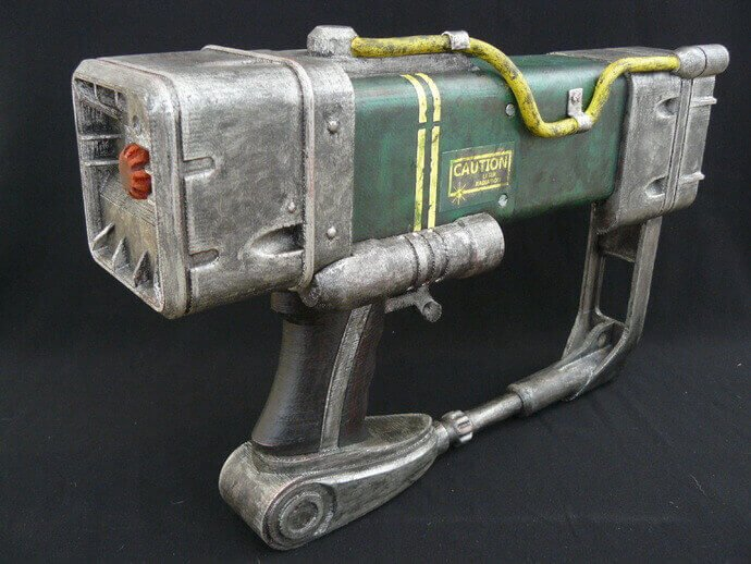 Image of Fallout Props & Toys to 3D Print: AEP7 Laser Pistol