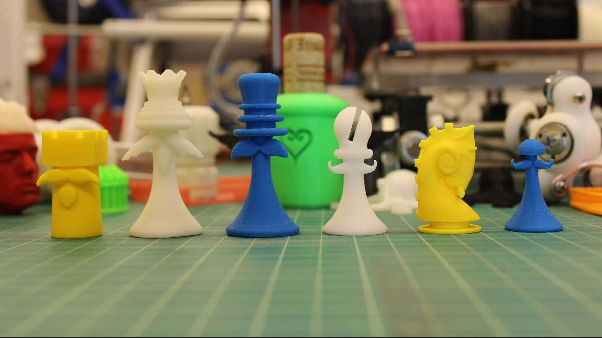 Chess With Mustaches a Hilarious Response to Legal Quagmire | All3DP