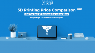 Featured image of All3DP launches 3D Printing Price Comparison Service