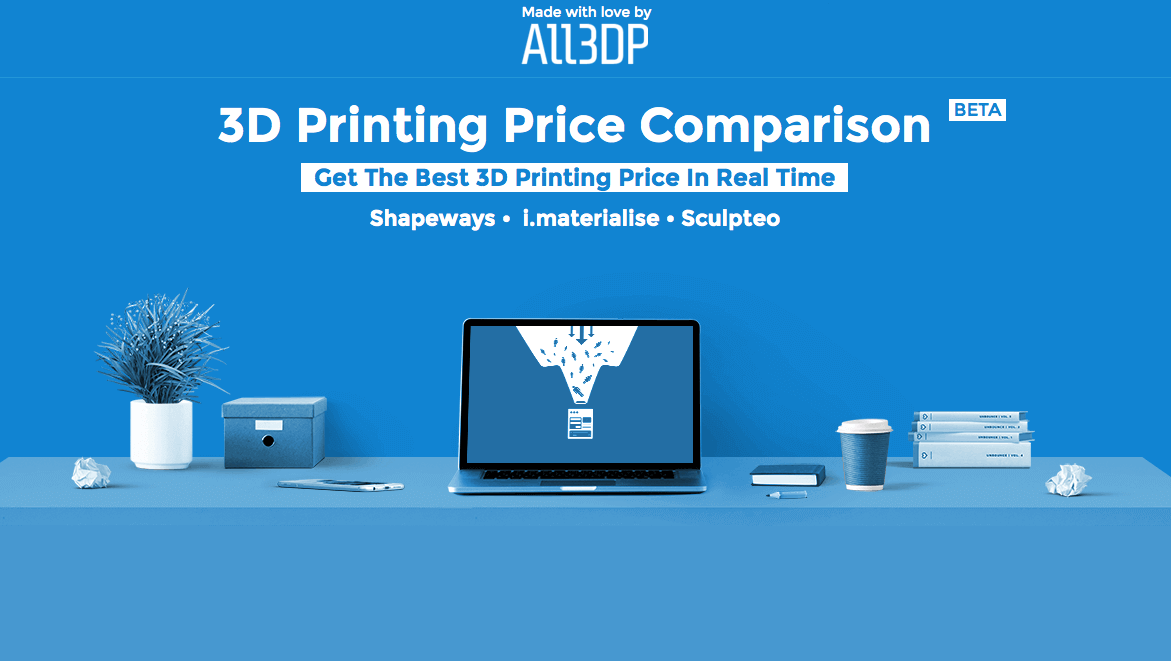 All3DP launches 3D Printing Price Comparison Service | All3DP