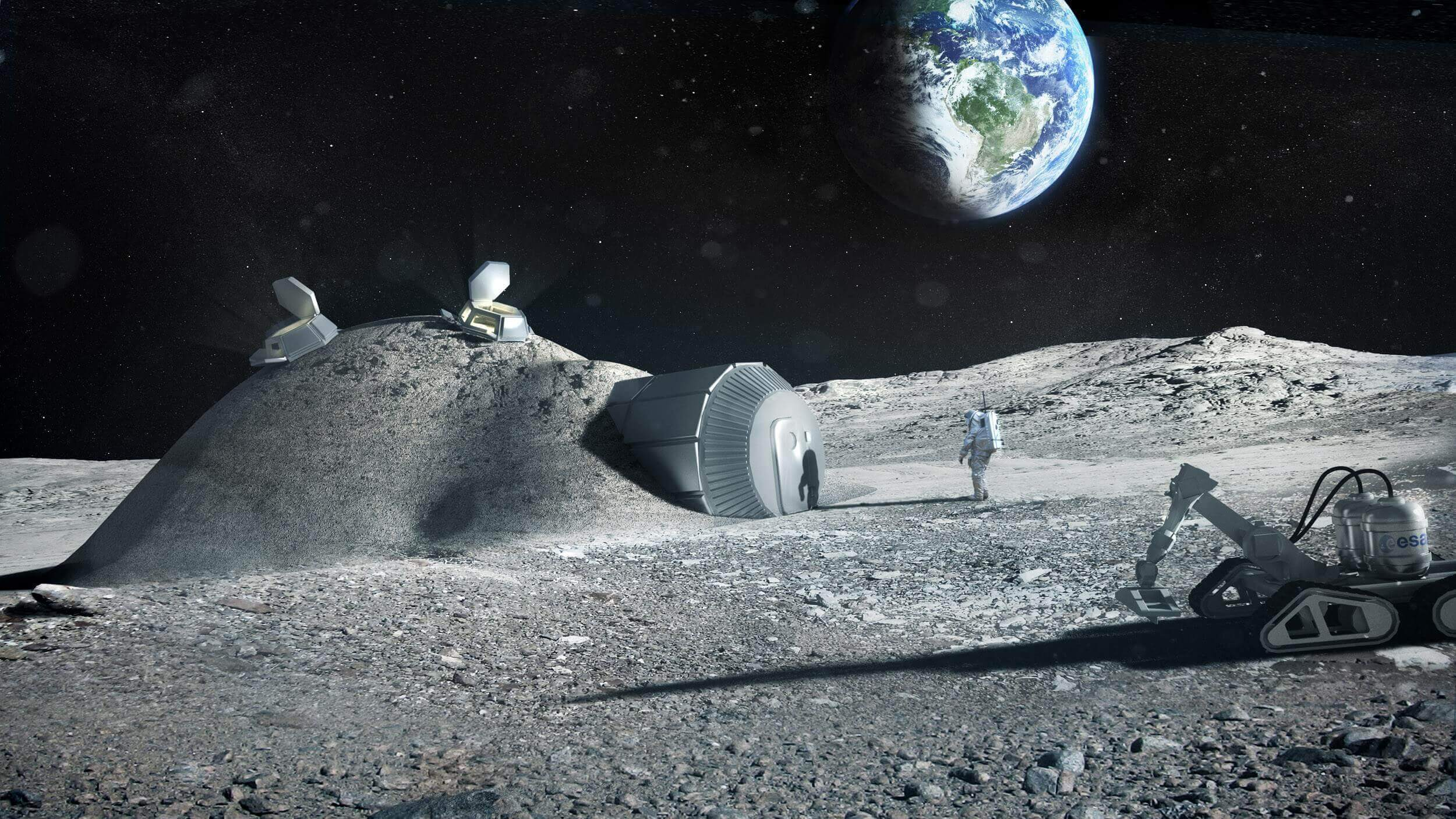 Russia And EU Reveal Plans For A 3D Printed Moonbase | All3DP