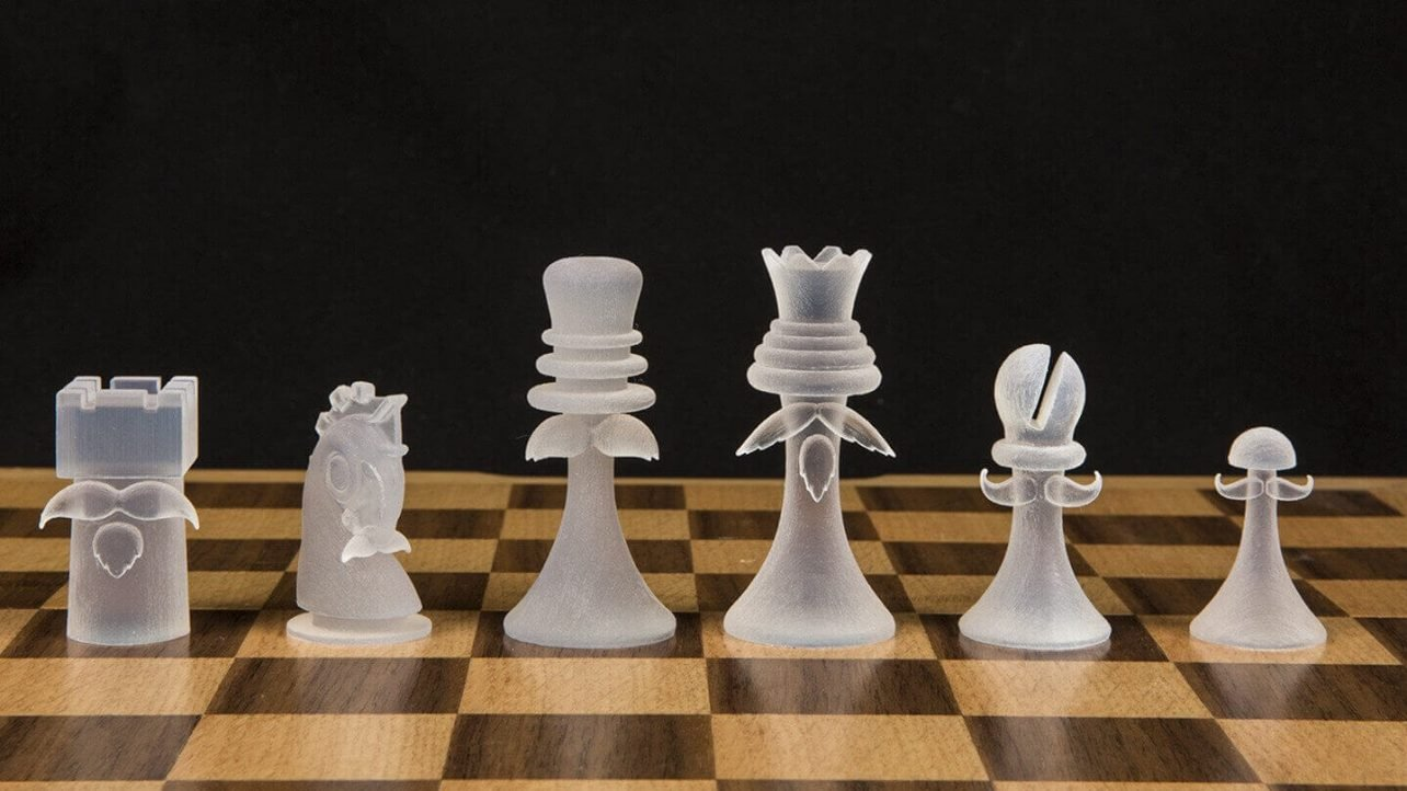 photo regarding Printable Chess Pieces titled The Criminal Problems of 3D Printing A Chess Fastened All3DP
