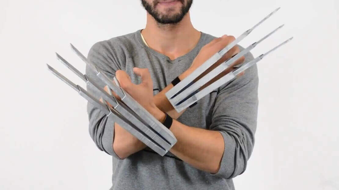 Hey Bub! Check out these 3D Printed Wolverine Claws | All3DP