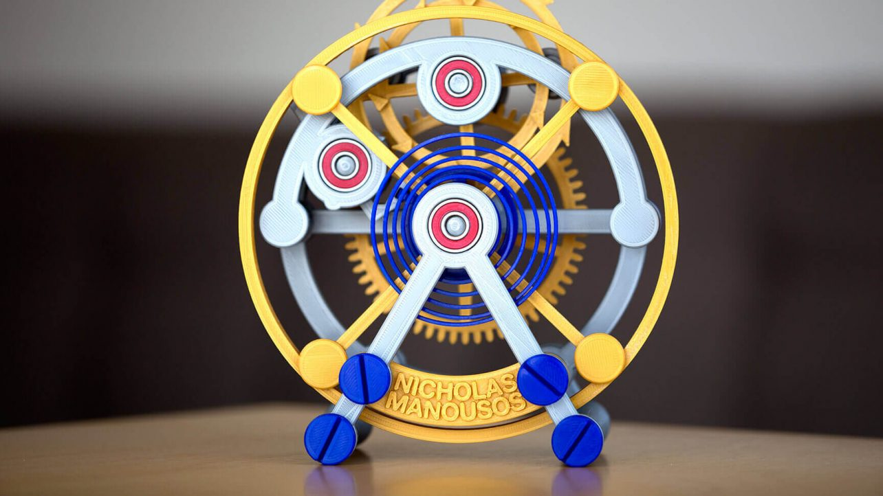 Featured image of Tourbillon 1000% is a Marvel of 3D Printed Timekeeping