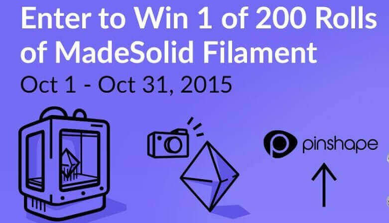 Pinshape Gives Away Free Filament | All3DP