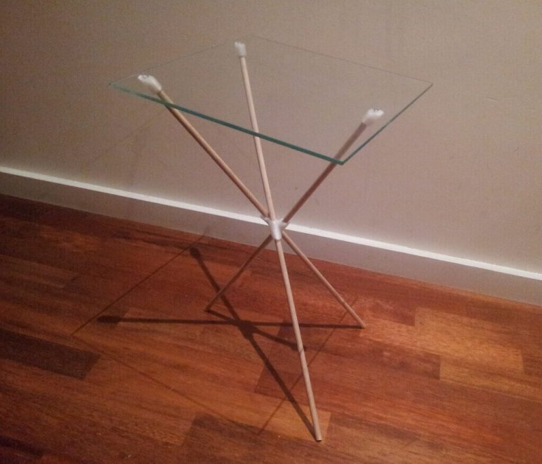 Image of 3D Printing Ideas – 30 Simple IKEA Hacks to 3D Print: EXPEDIT Side Table