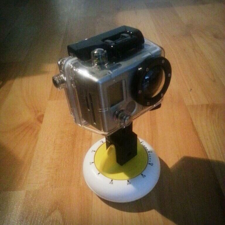 Image of 3D Printing Ideas – 30 Simple IKEA Hacks to 3D Print: STAM GoPro Mount