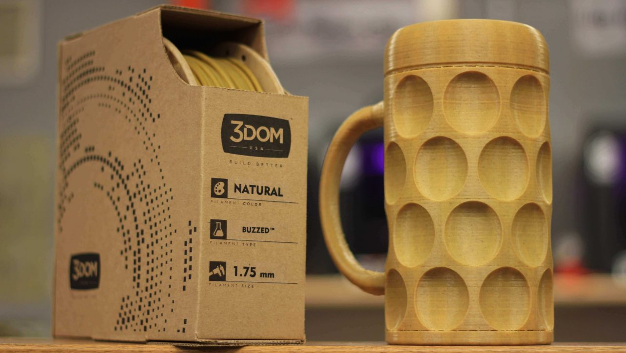 Featured image of 3D Print with Beer Filament