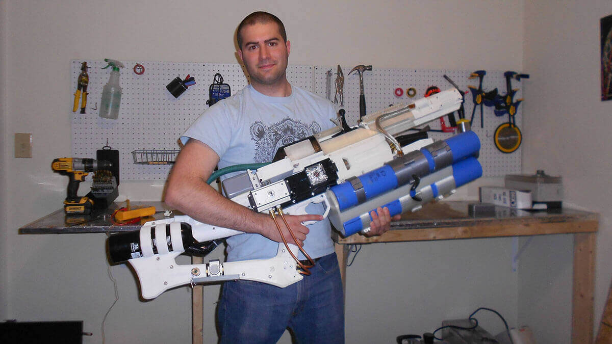 Handheld Railgun Created with Arduino and a 3D Printer | All3DP
