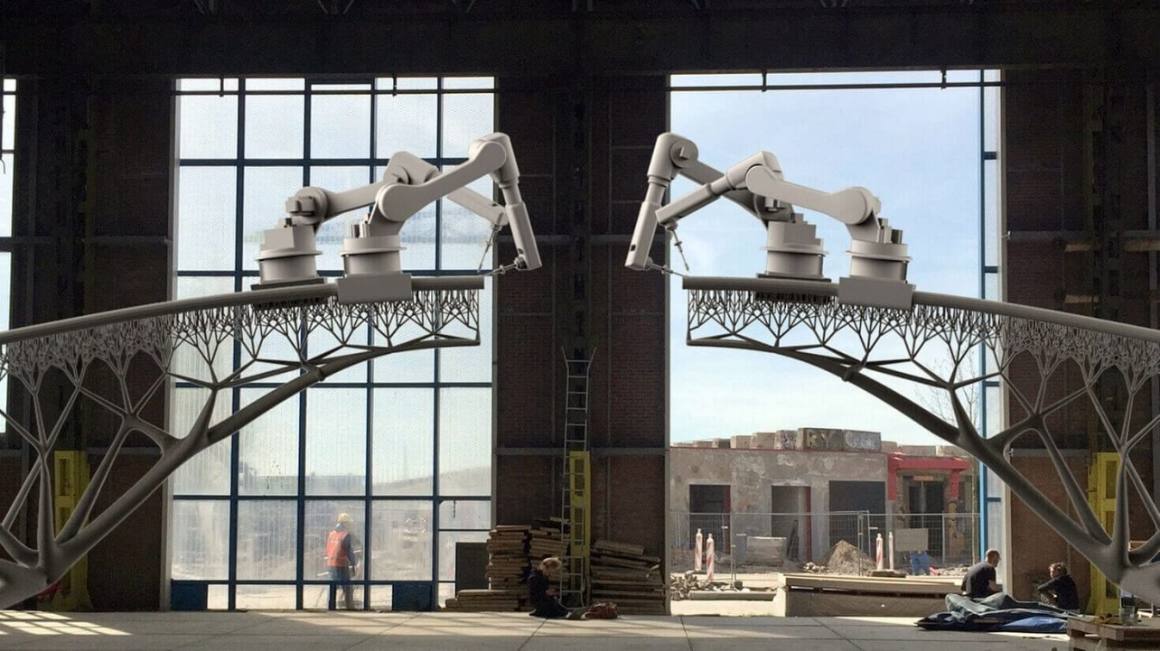 Featured image of 3D Printed Bridge Construction Begins in Amsterdam