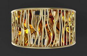 3D printed jewelry by Nemesi