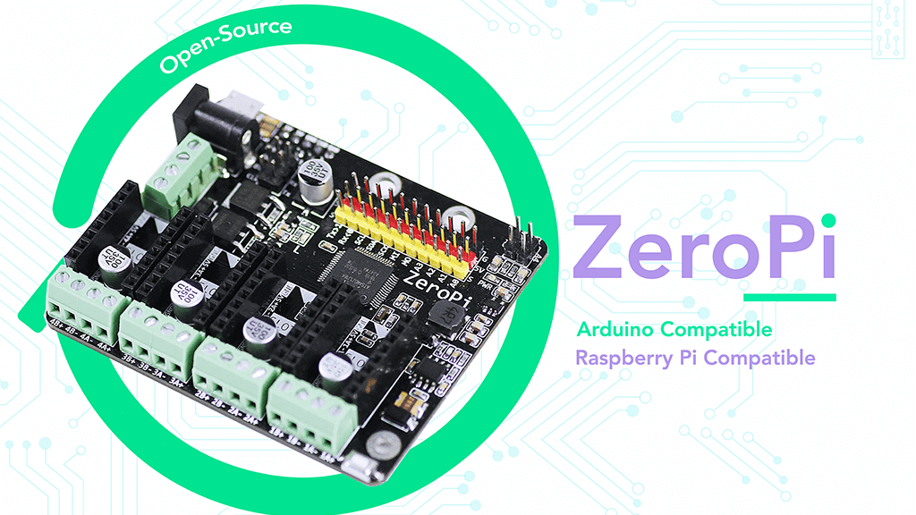 ZeroPi is a Next Generation Development Kit for 3D Printing | All3DP