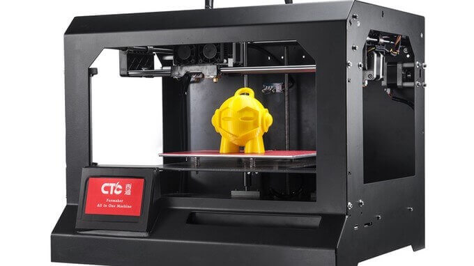 CTC Formaker combines 3D Printer, Laser, CNC Milling | All3DP