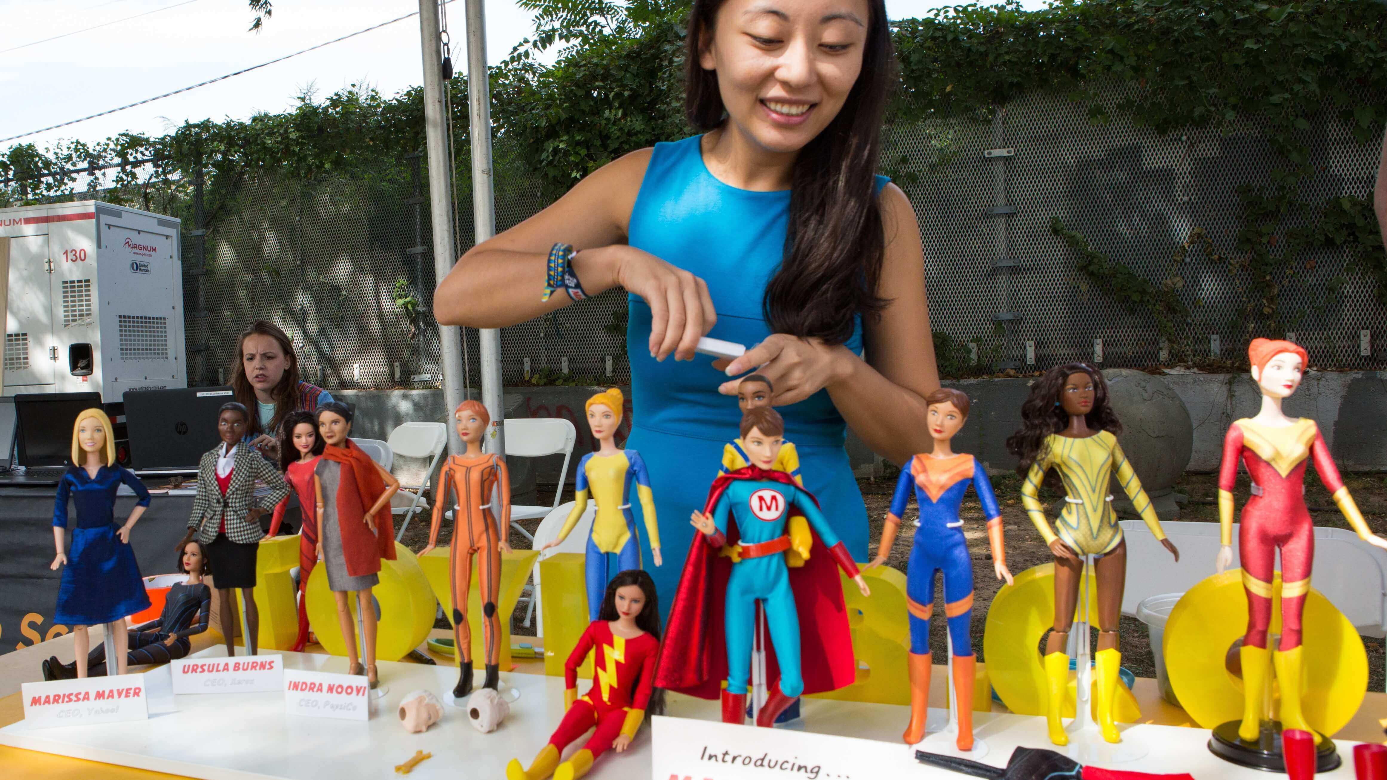 Maker Girl: 3D Printed Action Figures Send Positive Message | All3DP