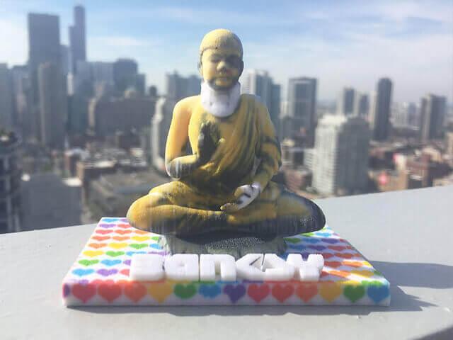 Injured Buddha 1