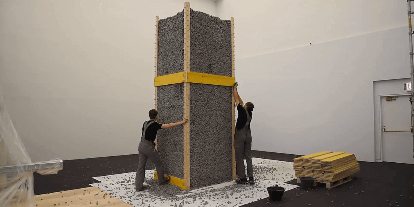Rock Print is a Zero Waste 3D Printed Structure (Made With Rocks) | All3DP