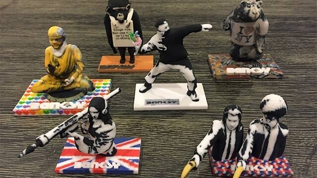 Banksy 3D Printed Figurines For Your Home | All3DP