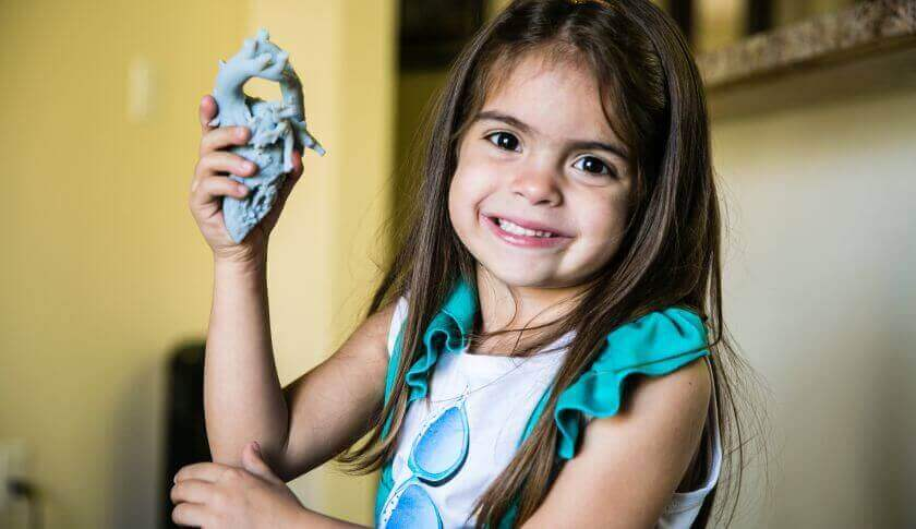 How a 3D Printed Heart Saved 5 Year Old Mia's Life | All3DP
