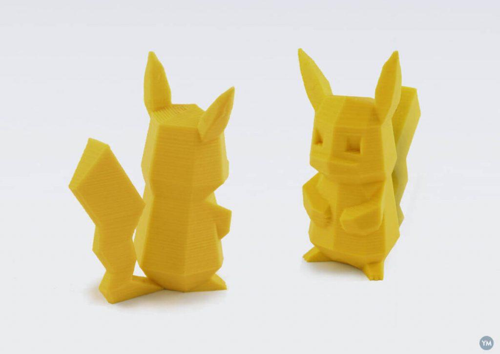 low-poly pokemon pikachu