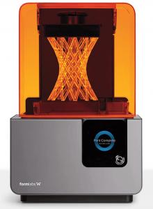 Formlabs a récemment présenté la Form 2, une imprimante SLA utilisant un laser UV pour la polymérisation (image: Formlabs)