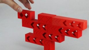 Featured image of Build Wibbly Wobbly Towers with 3D Printed Tricky Bricks