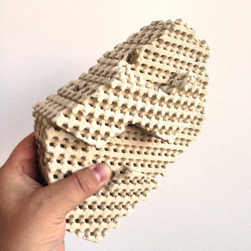 What the science?! 3D Printed Cool Bricks keep you cool! (image: Emerging Objects)