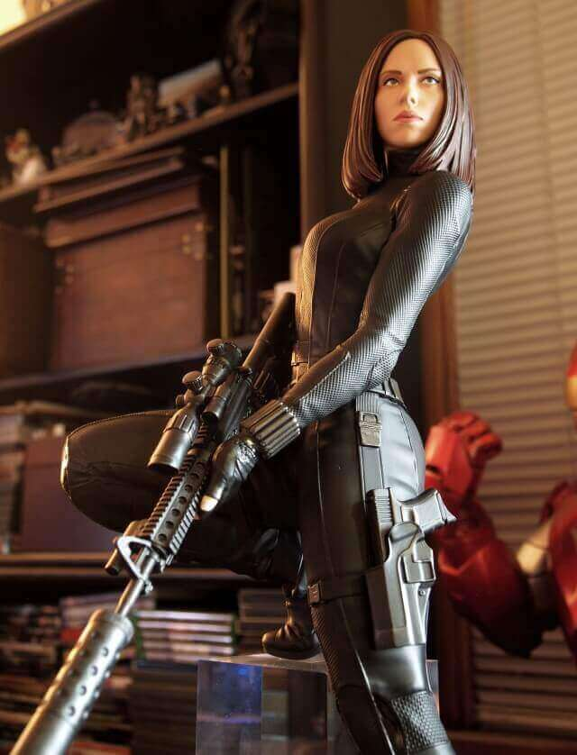 Natasha Romanoff, AKA Natalia Alianova Romanova, AKA The Black Widow (image: marveltoynews.com)