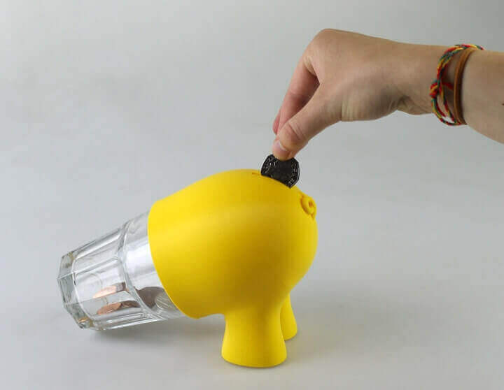 Image of 3D Printing Ideas – 30 Simple IKEA Hacks to 3D Print: POKAL Piggy Bank