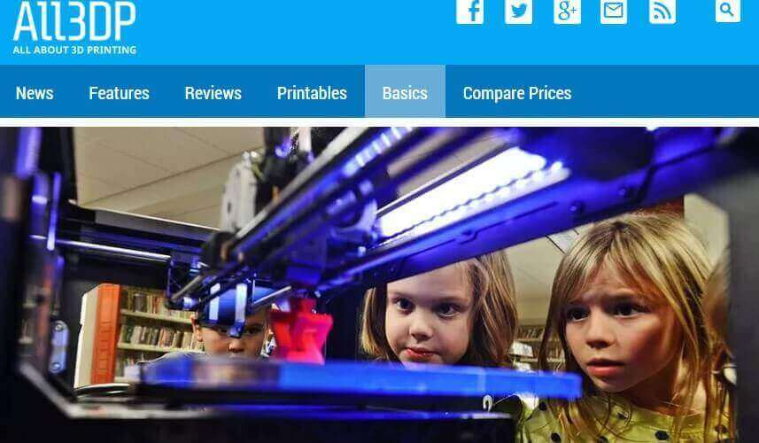 "All3DP: ""3D Printing Is Going To Be a Mass Market"" 