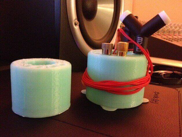 Sound guys will love it. (source: Thingiverse)