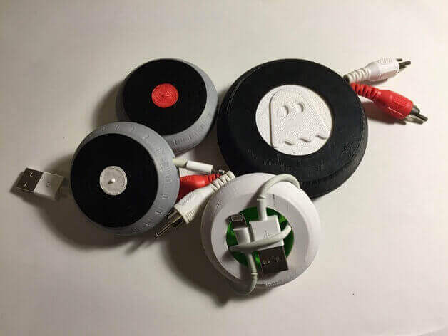 The vinyl ones make you look like an audiophile. (source: Thingiverse)