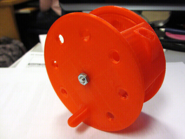 A cable drum is no percussion instrument. (source: Thingiverse)