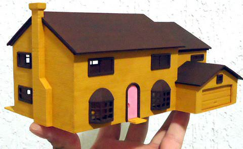3D Print The Simpsons House: 742 Evergreen Terrace Never Looked So Good | All3DP