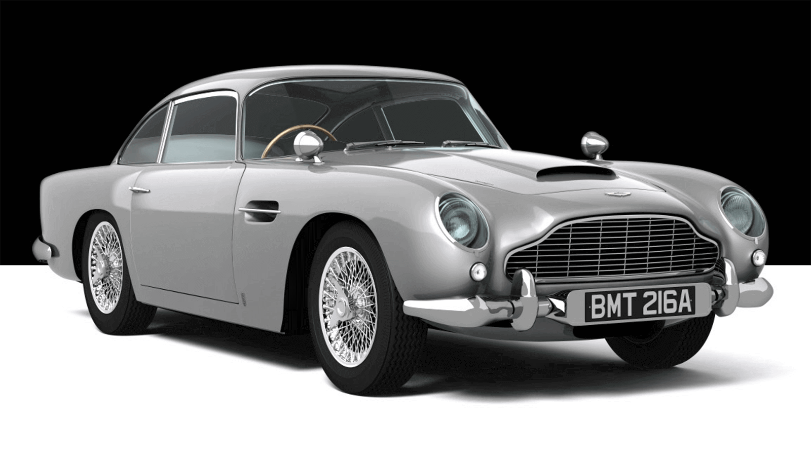 3D Printed Aston Martin DB5 Replica costs £28,000 (But has Working Machine Guns) | All3DP
