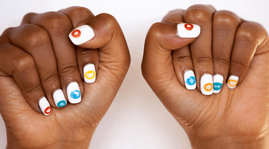 3D Printer Nailbot: Print Instant Nail Art With Your Phone | All3DP