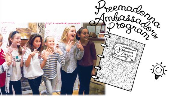 Preemadonna Ambassador Program (Image: Preemadonna)