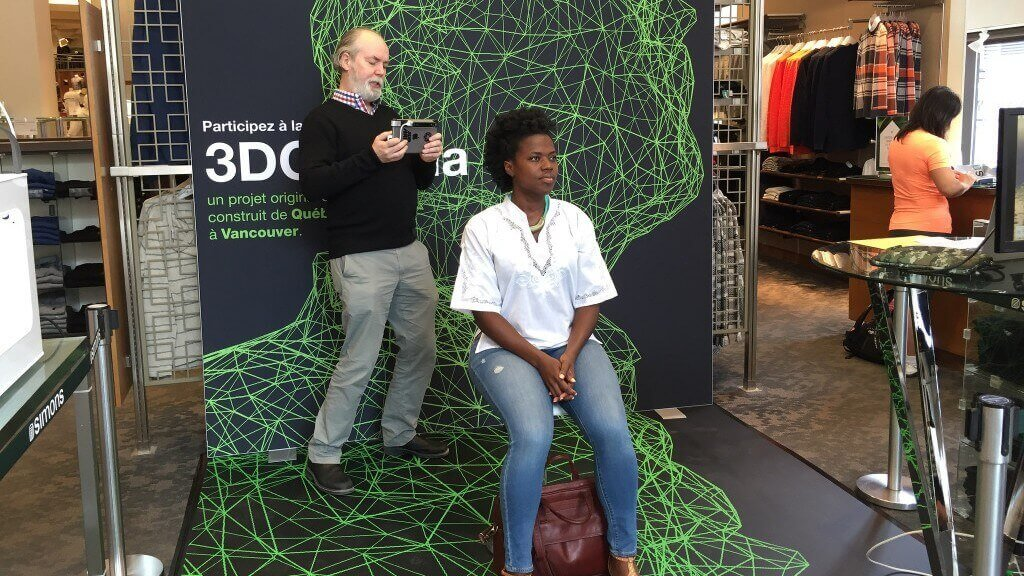 Douglas Coupland Scans Shoppers for 3DCanada Project | All3DP