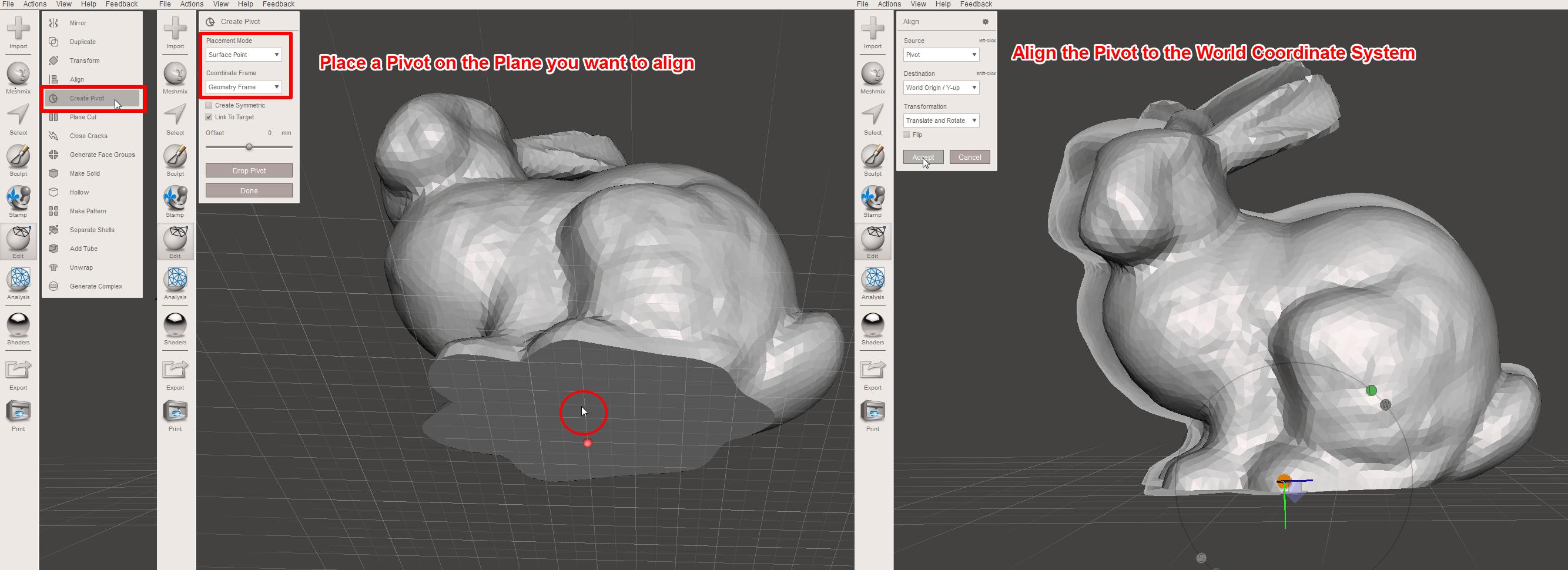 MeshMixer Tutorial for 3D Printing Beginners