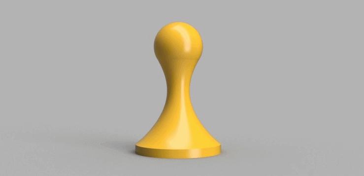 Image of Ustensile de cuisine imprimé en 3D - Top 30: Dameur pour machine à expresso