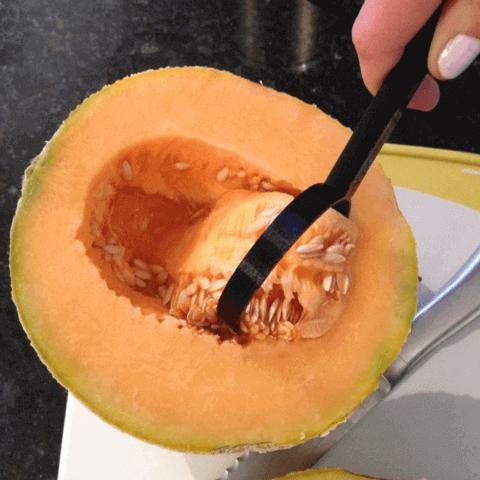 Image of 30 tolle Küchenhelfer aus dem 3D-Drucker: Melonenentkerner