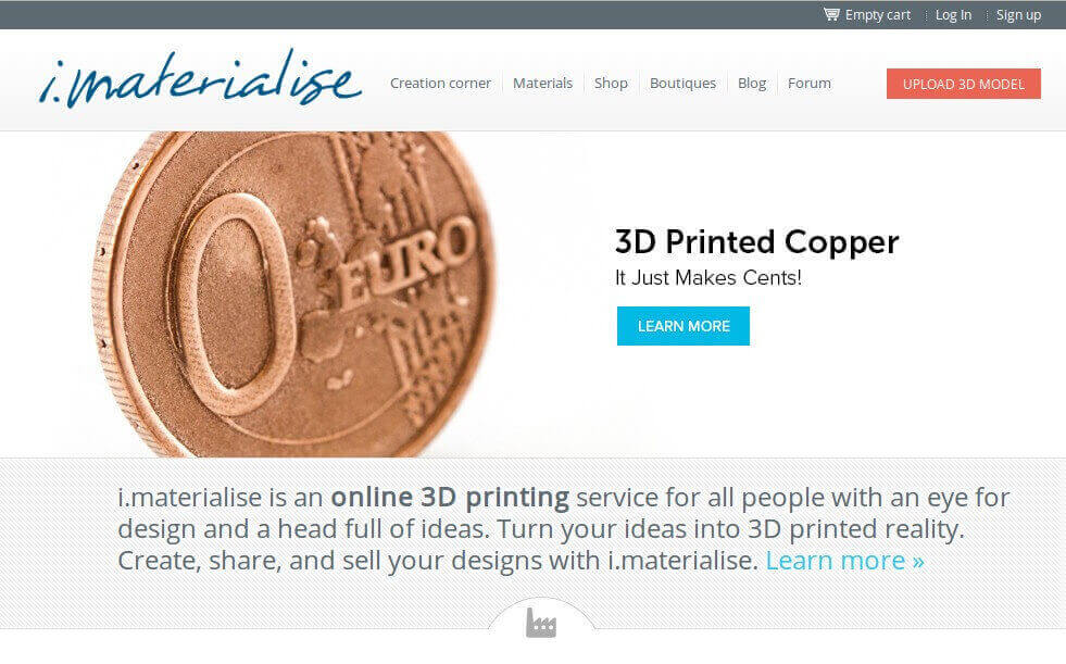 imaterialise 3d printing service