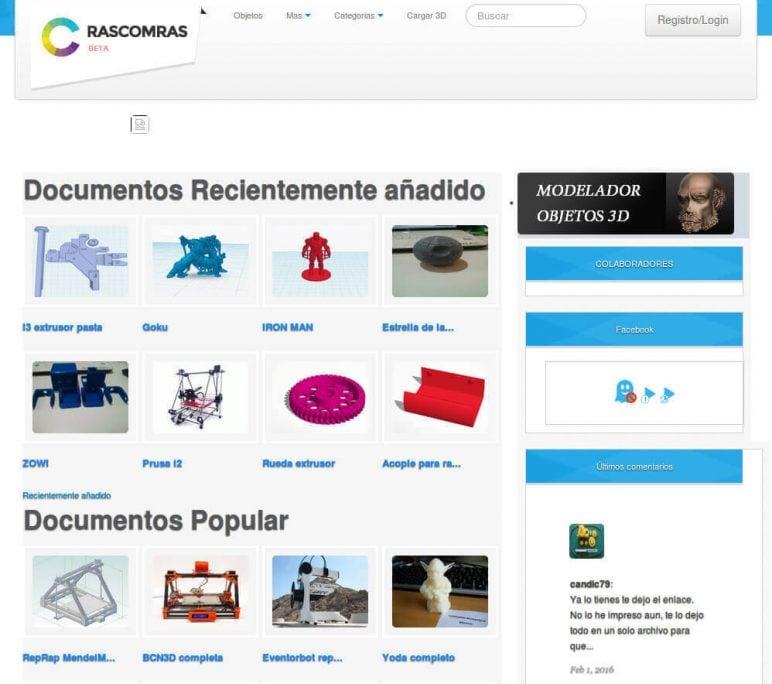 Image of Arquivos STL gratuitos e modelos de impressão 3D: RascomRas