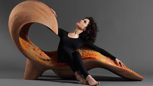 3D Printed Chaise: This Beautiful Piece is Now at SFMOMA Museum | All3DP